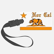 nor cal bear orange Luggage Tag