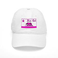 nor cal bear pink Baseball Baseball Cap