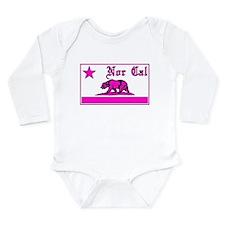 nor cal bear pink Body Suit