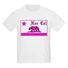nor cal bear pink T-Shirt
