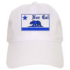 nor cal bear blue Baseball Baseball Cap
