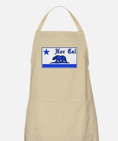 nor cal bear blue Apron
