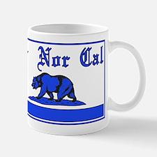 nor cal bear blue Mug