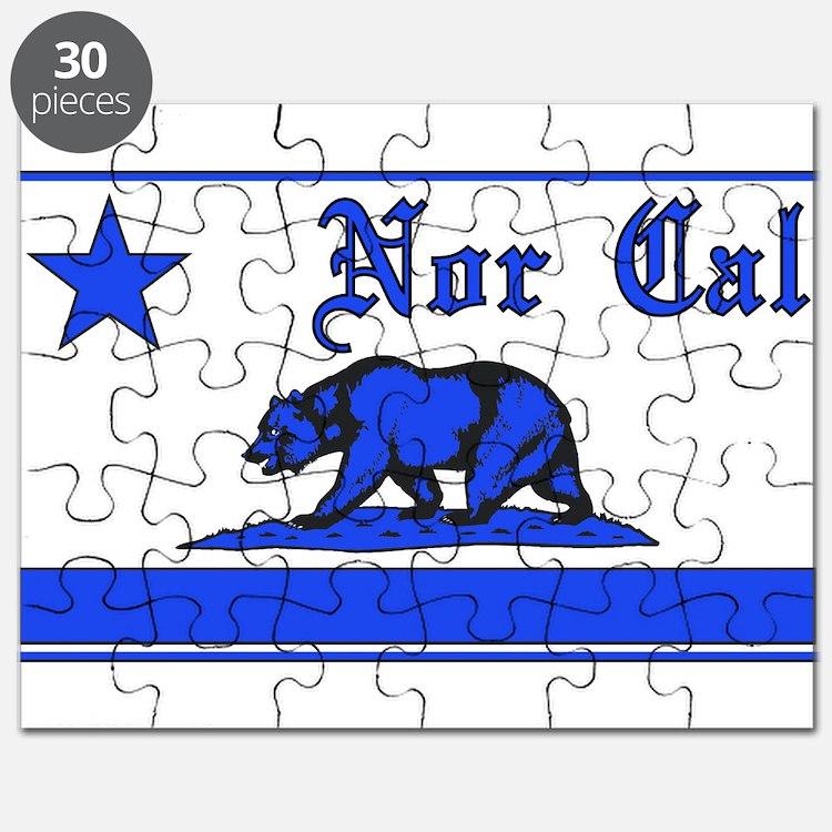 nor cal bear blue Puzzle