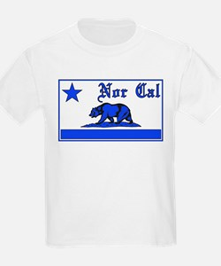 nor cal bear blue T-Shirt