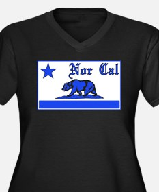 nor cal bear blue Plus Size T-Shirt