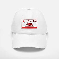 nor cal bear red Baseball Baseball Baseball Cap