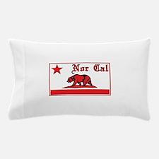 nor cal bear red Pillow Case