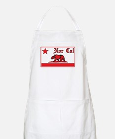 nor cal bear red Apron