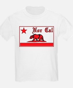 nor cal bear red T-Shirt