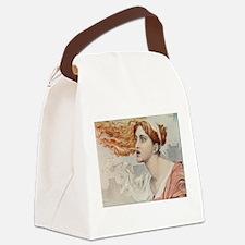 Unique Cass Canvas Lunch Bag