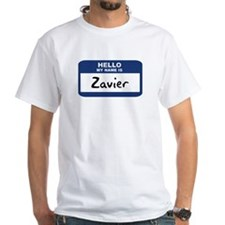 Hello: Zavier Shirt