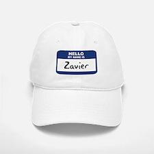 Hello: Zavier Baseball Baseball Cap