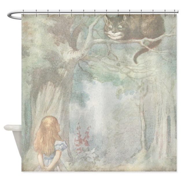 Curtains Ideas alice in wonderland curtains : Vintage Alice In Wonderland Shower Curtains | Vintage Alice In ...