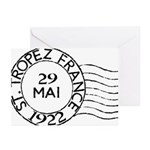 St. Tropez France Greeting Cards (Pk of 10)