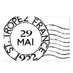 St. Tropez France Postcards (Package of 8)