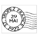 St. Tropez France Small Poster