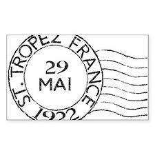 St. Tropez France Sticker (Rectangle)