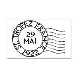 St. Tropez France Car Magnet 20 x 12