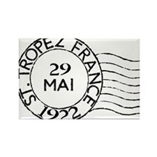 St. Tropez France Rectangle Magnet (10 pack)