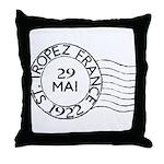St. Tropez France Throw Pillow