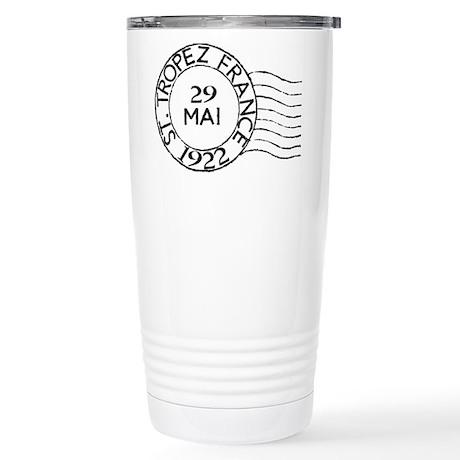 St. Tropez France Stainless Steel Travel Mug