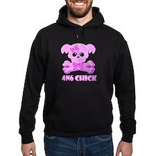NCIS Abby 4N6 Chick Hoodie