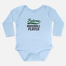 Future Handball Player Long Sleeve Infant Bodysuit