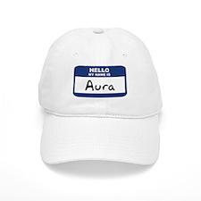 Hello: Aura Baseball Cap