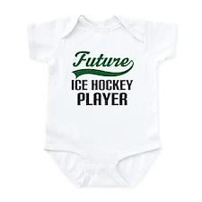 Future Ice Hockey Player Onesie