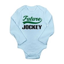 Future Jockey Long Sleeve Infant Bodysuit