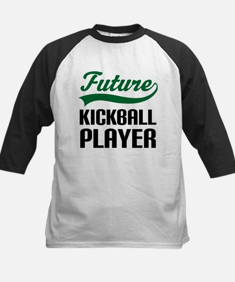 Future Kickball Player Kids Baseball Jersey
