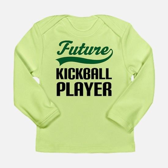 Future Kickball Player Long Sleeve Infant T-Shirt