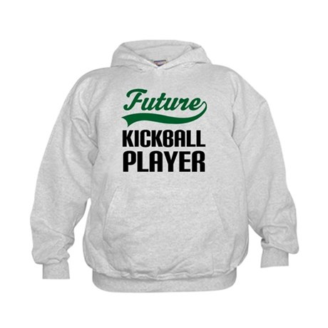 Future Kickball Player Kids Hoodie