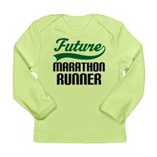 Future Marathon Runner Long Sleeve Infant T-Shirt