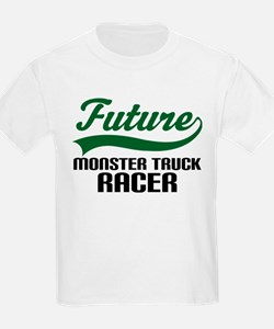 Future Monster Truck Racer T-Shirt