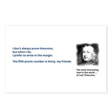 Pierre de Fermats last theorem Postcards (Package