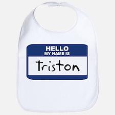 Hello: Triston Bib
