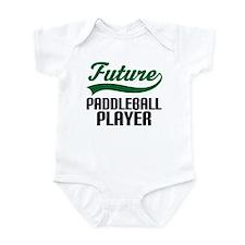 Future Paddleball Player Infant Bodysuit