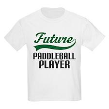Future Paddleball Player T-Shirt