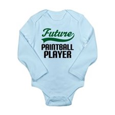 Future Paintball Player Long Sleeve Infant Bodysui