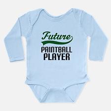 Future Paintball Player Long Sleeve Infant Bodysui
