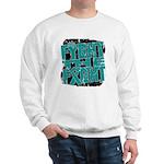 Fight The Fight Ovarian Cancer Sweatshirt