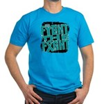 Fight The Fight Ovarian Cancer Men's Fitted T-Shir