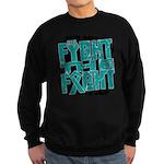Fight The Fight Ovarian Cancer Sweatshirt (dark)