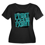 Fight The Fight Ovarian Cancer Women's Plus Size S
