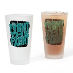 Fight The Fight Ovarian Cancer Drinking Glass