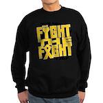 Fight The Fight Neuroblastoma Sweatshirt (dark)