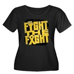 Fight The Fight Neuroblastoma Women's Plus Size Sc