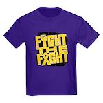 Fight The Fight Neuroblastoma Kids Dark T-Shirt